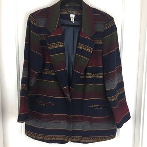 Vintage Requirements Petite Blazer Size 10